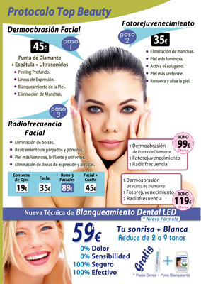 Protocolo Top Beauty Bellalight y Blanqueamiento Dental (2017)